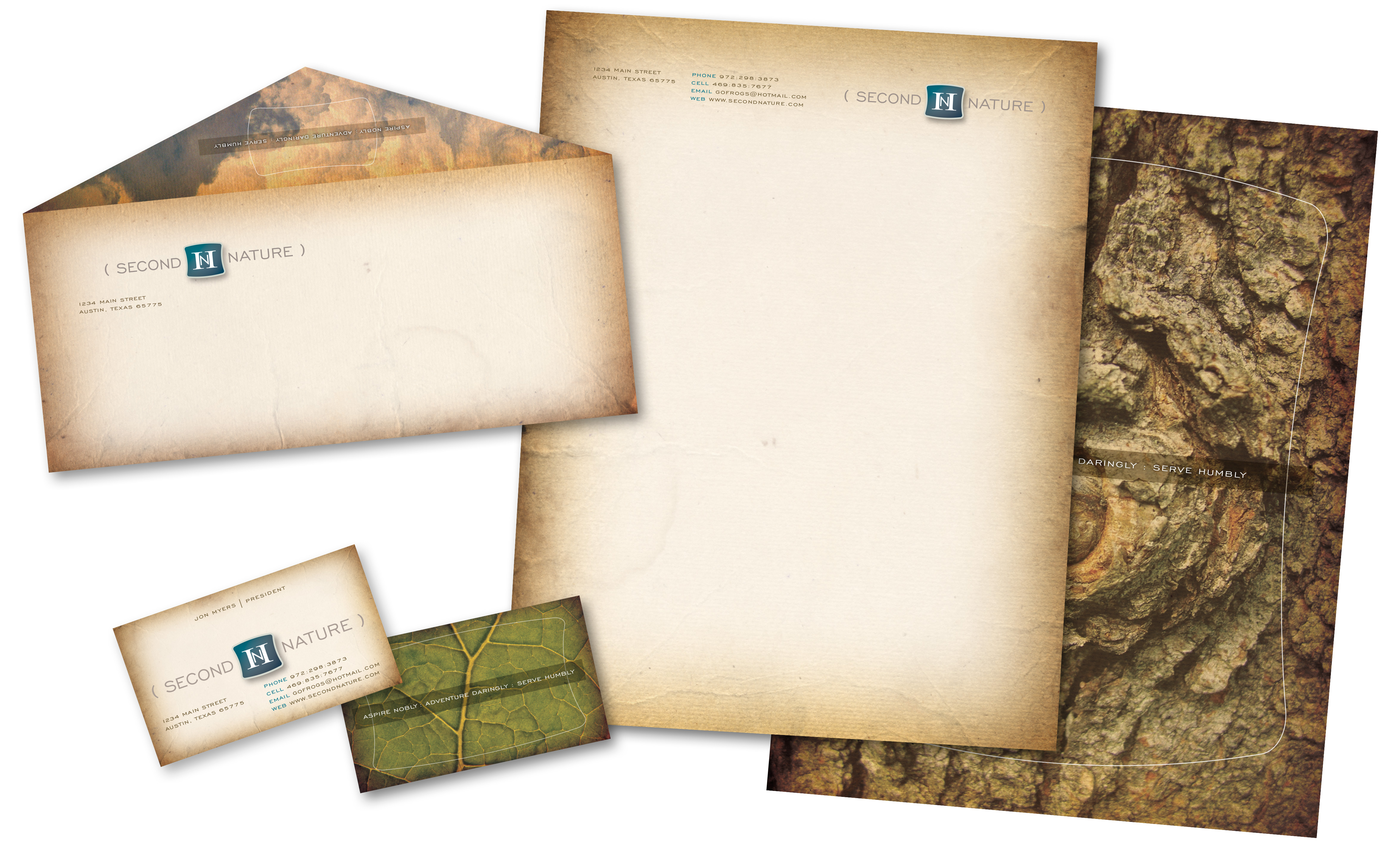 Jeff Kern design - Second Nature Stationery