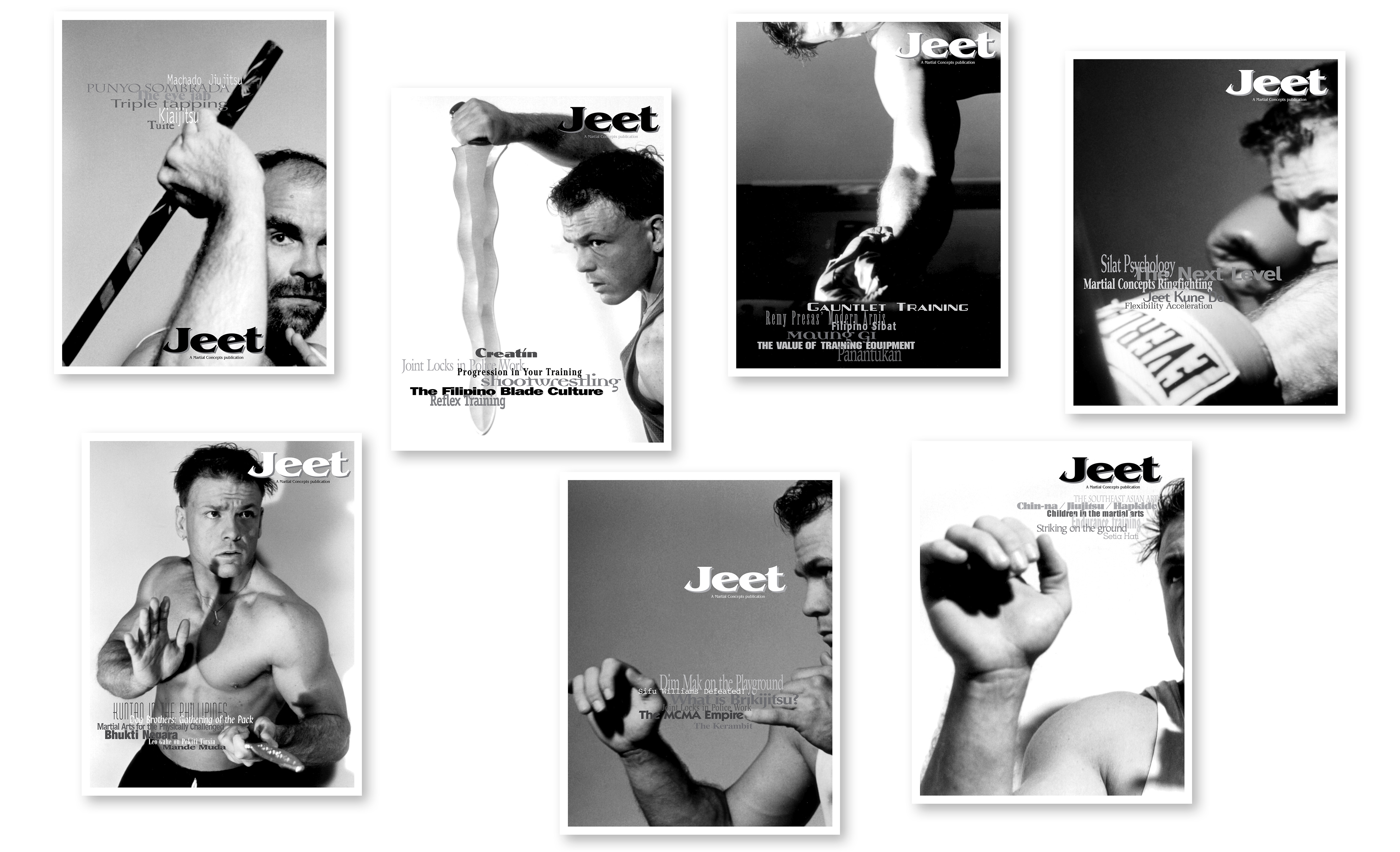 Jeff Kern design - Jeet Martial Arts Magazine