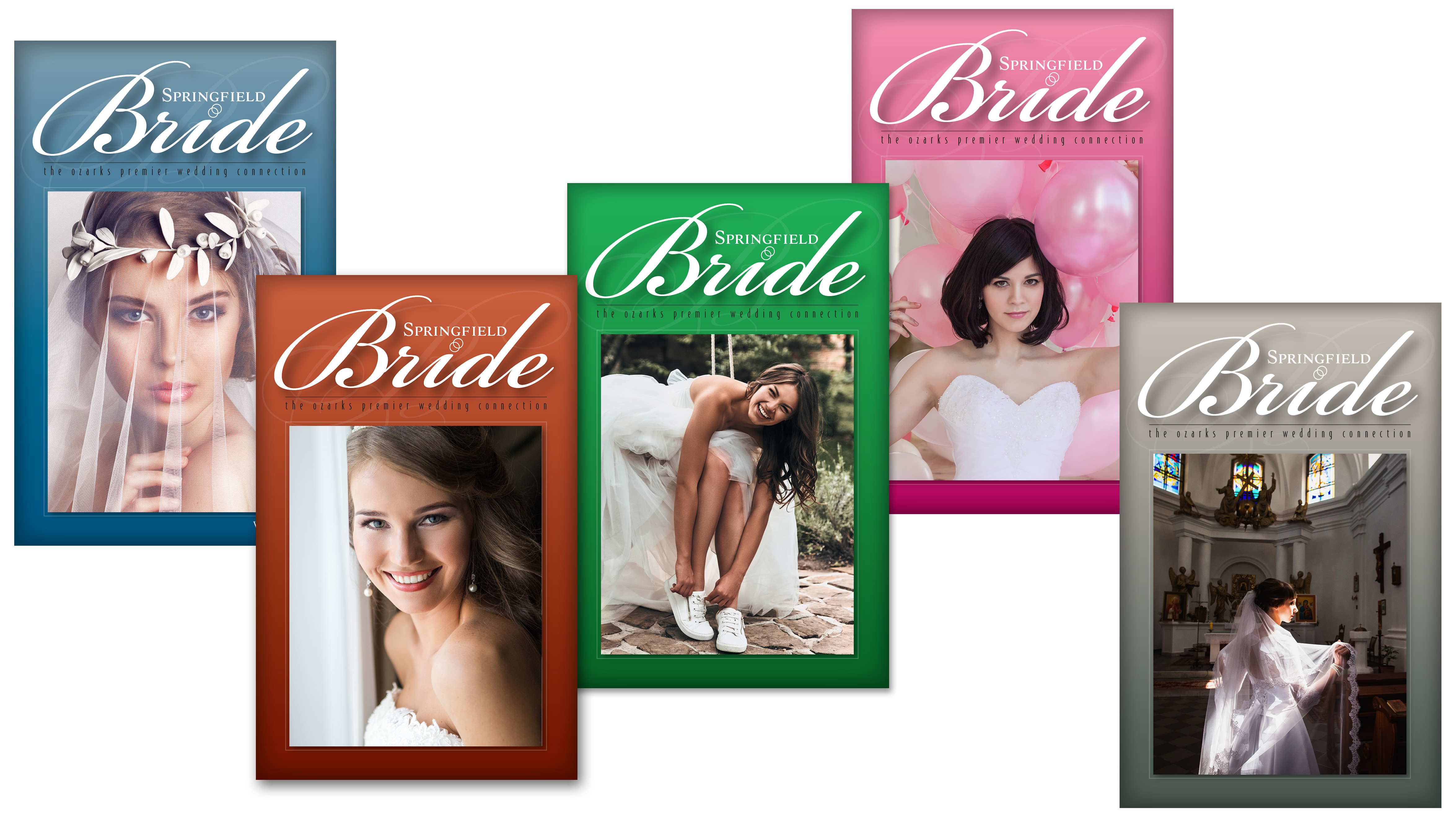 Jeff Kern design - Springfield Bride Booklet Covers